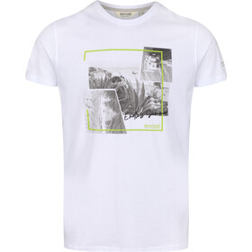 Regatta Cline IV T-Shirt Heren, white endless summer